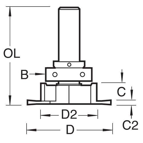 Trend C207x1//2TC Craft Pro Routeur Cutter guidé Aquamac 21//Aquatex A10 recesser