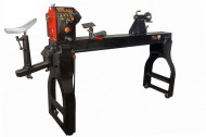 NOVA Galaxi DVR  Woodturning Lathe with Stand, Outrigger + Woodsurfer Bowl Rest