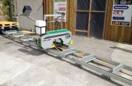 NEW Forestor CTR520 (415v) Manual Feed Bandsaw Sawmill Bandmill with Extension 6.75mts