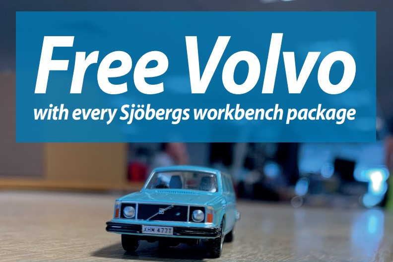 Free Volvo Sjoberg offer