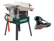 Metabo HC260C Planer/Thicknesser & FSR200 Intec Palm Sander (Package Deal)