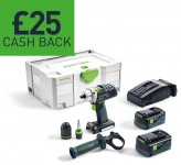 1 - Festool £25 Cashback Tools