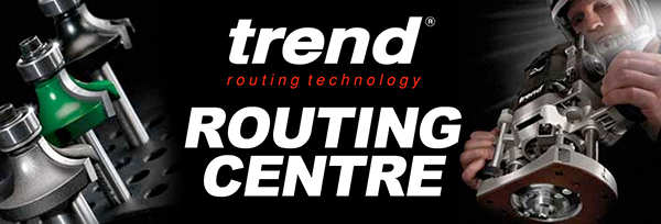 Trend Routing Centre and Router Cutters