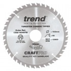 TREND CSB/16540TB CRAFT SAW BLADE 165.0MM X 30.0MM X 40T THIN KERF