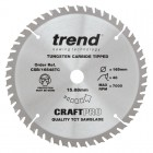 TREND CSB/16548TC CRAFT SAW BLADE 165.0MM X 15.88MM X 48T THIN KERF