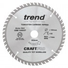 TREND CSB/16552T CRAFT SAW BLADE 165.0MM X 20.0MM X 52T THIN KERF