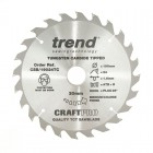 TREND CSB/19024TC CRAFT 190MM X 24T X 30MM X 1.55 DCS