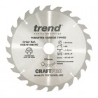 TREND CSB/21024TC CRAFT 210MM X 24T X 30MM X 1.8 DCS7