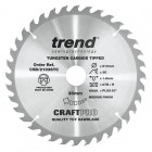 TREND CSB/21036TC CRAFT 210MM X 36T X 30MM X 1.8 DCS7