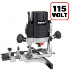 "TREND T5 T5ELB 1000W 1/4"" Collet Variable Speed Plunge Router 110v + 3yr Warranty"