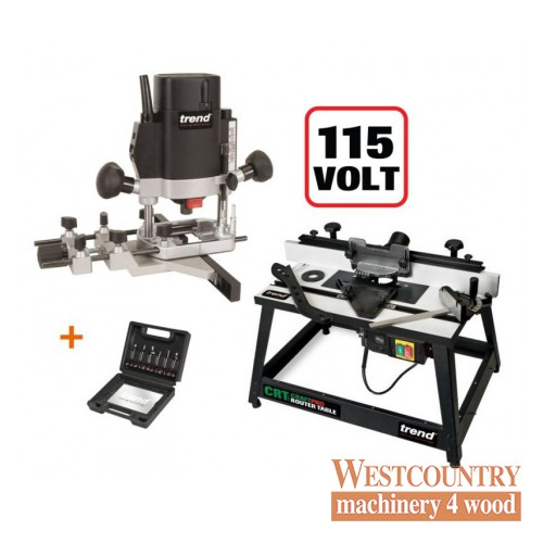 Trend t5elb 110v 14 routercrtmk3l router tabless11 6pc cutter trend t5elb 110v 14 routercrtmk3l router tabless11 greentooth Gallery