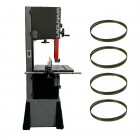 "Laguna 14/12 Bandsaw Package Deal -14"" Woodworking Bandsaw c/w 4 blades"