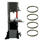 "Laguna 14/12 Bandsaw Package Deal -14"" Woodworking Bandsaw c/w 4 blades and wheel kit"