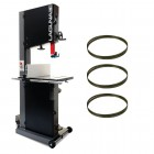 "Laguna 18/BXBandsaw Package Deal - 18"" Bandsaw c/w 3 blades and wheel kit"