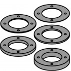 SPACER RING KIT WITH PIN HOLES FOR CUTTER HEAD 694.001.50
