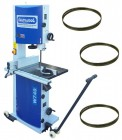 "Charnwood W750 18"" Woodworking Bandsaw and 3 Blades Package Deal"