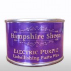 Hampshire Sheen Electric Purple Wax 130g