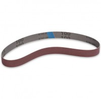 "Charnwood SB130100 Cloth Backed Sanding Belt 1"" (25mm) x 30\"" (762mm), 100 Grit, Pack of 2"