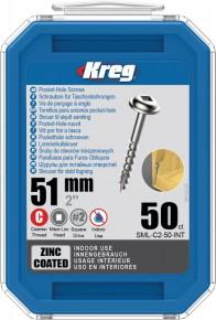 Kreg SML-C2-50-EUR Kreg Pocket Hole Screws - 51mm / 2