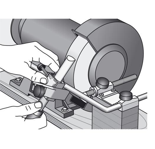 Tormek Bgm 100 Bench Grinder Mounting Set Ref 210952 Bri