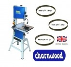 "Charnwood B250-PACK 10"" Premium Woodworking Bandsaw Package Deal 2"