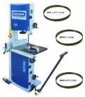 "Charnwood W750 18"" Woodworking Bandsaw and 3 Blades Package Deal 2"
