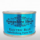 Hampshire Sheen Electric Blue Wax 130g