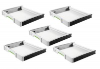 Festool 500767 Festool SYSTAINER Pull-out drawer SYS-AZ-Set - Pack of 5