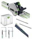 Festool 712658 Festool TS55 REBQ-Plus Plunge-cut saw set 110v