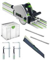 Festool 712657 Festool TS55 REBQ-Plus Plunge-cut saw set 240v - £598.00 INC VAT