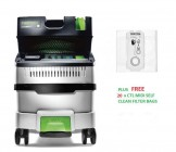 Festool 574836 Festool CLEANTEC CTL MIDI I GB MK2 110V Mobile Dust Extractor PACKAGE