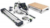 Festool 576665 Festool Mitre saw KS 120 REB Set-MFT GB 240V