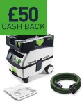 Festool CTL MINI and MIDI Extractors