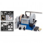 Tormek T-4 Wetstone Grinder + HTK-706 Handtool Kit  + TNT-708 Woodturners Kit Package - ref 717661
