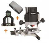 "TREND T5EB 1/4"" Plunge Router 240V +D60 Depth Gauge +Diamond Stone +3yr Warranty"