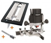 "TREND T5EB 1/4"" Plunge Router 240V +Adjustable Lock Jig +Cutter +3yr Warranty"