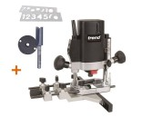 "TREND T5EB 1/4"" Plunge Router 240V + Number Template + Cutter +3yr Warranty"