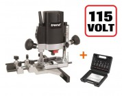 "TREND T5ELB 1000W 1/4"" Variable Speed Plunge Router 110V + SS11 6pc 1/4\"" Cutter Set"