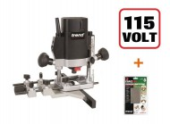 "Trend T5 T5ELB 1/4""  Plunge Router 110V + Diamond Credit Card +3yr Warranty"