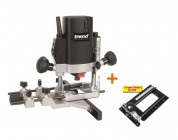Trend T5EB 240v Plunge Router and Combination Router Base CRB Package