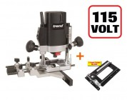Trend T5ELB 110v Plunge Router + Combination Router Base CRB  + 3yr Warranty