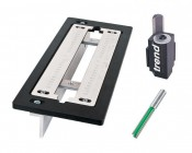 Trend LOCK/JIG/B Trade lock jig for router c/w Trend cutter and corner chisel