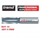 Trend 3/83D Kitchen Worktop Router Cutter - BUY 10 GET 5 FREE - Two Flute 12.7mm dia x 50.0mm cut 3/83DX1/2TC